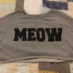 MEOW Crop Top